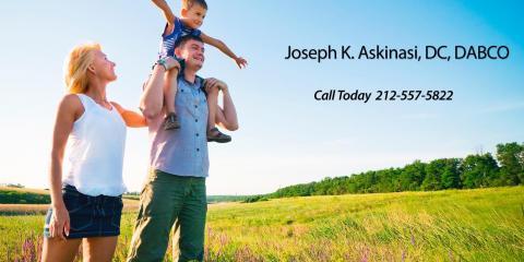Joseph K. Askinasi DC DABCO, Chiropractor, Health and Beauty, Rye, New York