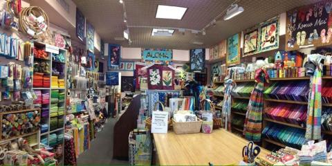 The Maui Quilt Shop Shares How History Was Documented In a Quilt Design, Kihei, Hawaii