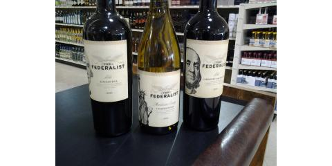"""The Federalist"" Wines, ON SALE!, Golden Valley, Minnesota"