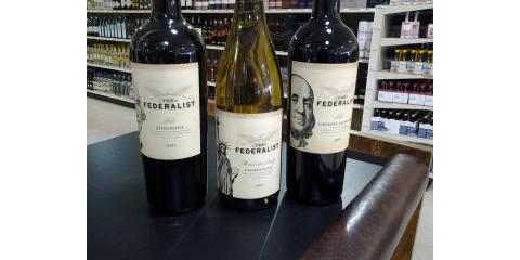 """""""The Federalist"""" Wines, ON SALE!, Crystal, Minnesota"""