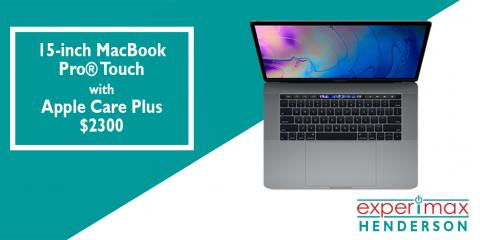 15-inch MacBook Pro® Touch with Apple Care Plus - $2300, Henderson, Nevada