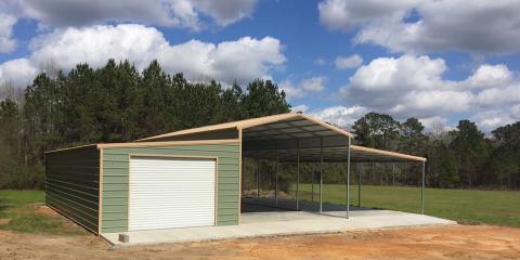 3 Benefits of Metal Garages & Carports, Dothan, Alabama