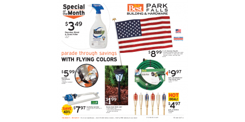 May 2017 Spring Sale!, Park Falls, Wisconsin