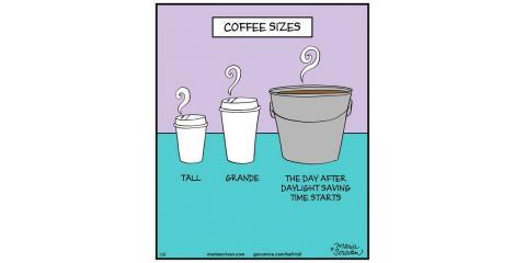 Happy Monday, get your coffee!, Hamilton, Ohio