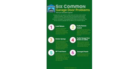 Common Garage Door Problems, do you make the grade?, Hamilton, Ohio