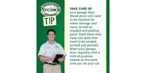 Make sure you take care of your garage door! Wednesday's quick tip., Fairfield, Ohio