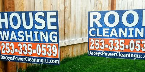 Dacey's Power Cleaning LLC, Roof Cleaning, Services, Puyallup, Washington