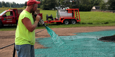 Guide to Lawn Care: What Is Hydroseeding?, Le Roy, New York