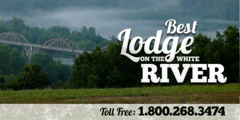 Like and Share for a chance to win 2 nights at our Lodge and 1 Full Day of Guided Fishing on Arkansas's White River, Whiteville, Arkansas
