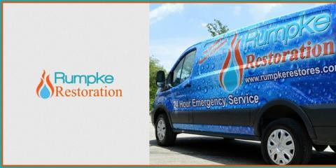 Rumpke Restoration, Water Damage Restoration, Services, Springdale, Ohio