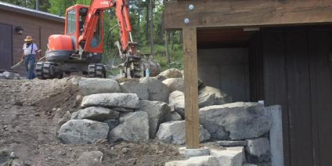 3 Reasons Homeowners Should Install a Rock Retaining Wall, Kalispell, Montana