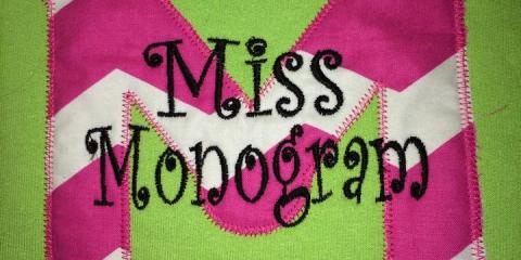 Check Out Miss Monogram's Custom Clothes at 3 Kentucky Festivals, Richmond, Kentucky