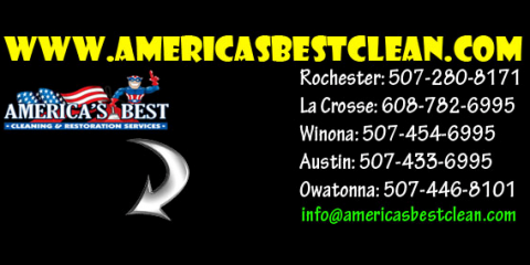 America's Best Cleaning & Restoration Services , Restoration Services, Services, La Crosse, Wisconsin