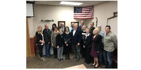 Local REALTORS Meet With Congressman Collin Peterson, Granite Falls, Minnesota