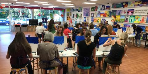 Make A Paint Sip Party Your Next Destination For S Night Out