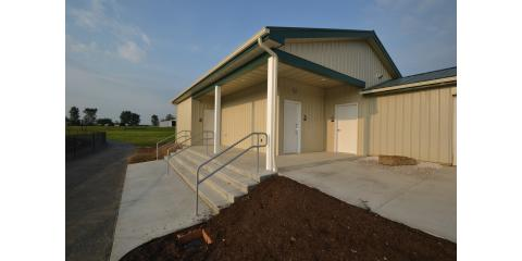 Marlington Football Stadium Restrooms, Alliance, Ohio