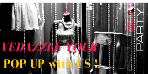 Vedazzling Accessories is Open for Pop Up Rental Requests, Brooklyn, New York