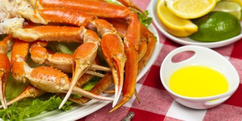 Treat Yourself to Crab Legs at Alaska Fish & Chips Company, Juneau, Alaska