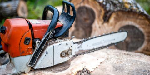 3 Ways to Ensure You're Using a Chainsaw Correctly , Middlefield, Ohio