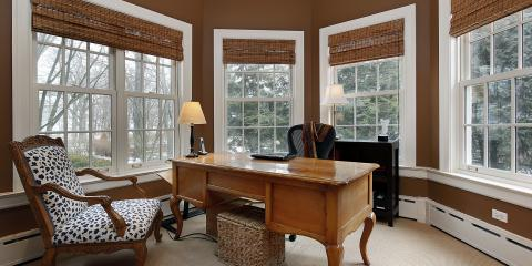 Top 3 Window Treatment Ideas For A Home Office, Anchorage, Alaska