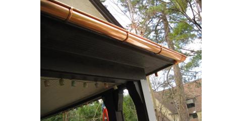 1/2 Round Copper Gutters/ Premier Tri-State Roofing Inc., Cincinnati, Ohio