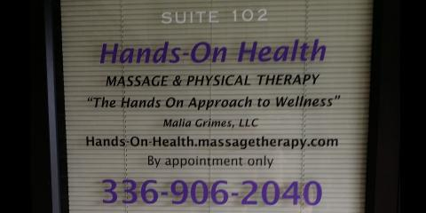 History of Hands-On Health Massage & Physical Therapy, High Point, North Carolina