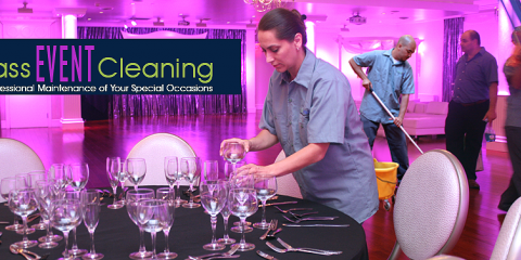 Check Commercial Cleaning Services Off The List When Planning Your Next Event, Queens, New York