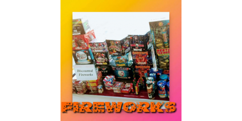 25% OFF ALL FIREWORKS, Bourbon, Missouri