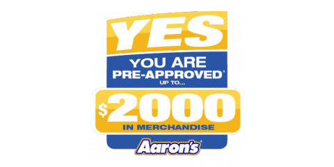 New Aarons Customers Are PreApproved For Up To In - Aarons store map us