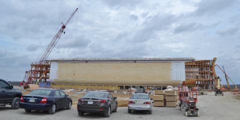 The Ark Encounter Is Making Progress Marsh Window