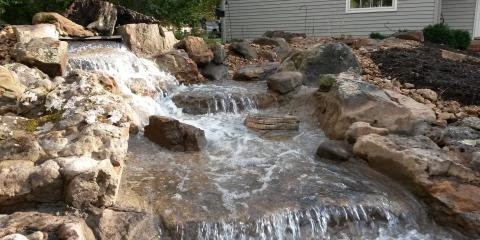 Detecting Leaks in a Water Feature, Columbia, Missouri