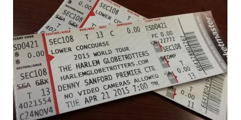 SHARE & LIKE US TO WIN!  GLOBETROTTER TICKETS!!, Plankinton, South Dakota