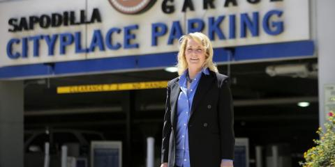 Kirsten Dolan the President/COO of One Parking Featured in Newspaper About this Years Resolutions, Jersey City, New Jersey