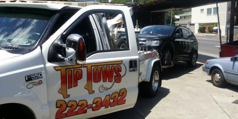 Tip Tows LLC, Towing, Services, Kapolei, Hawaii