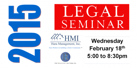 HMI to Host HOA/COA Board Member Certification Course with The Ruggieri Law Firm, Longwood, Florida