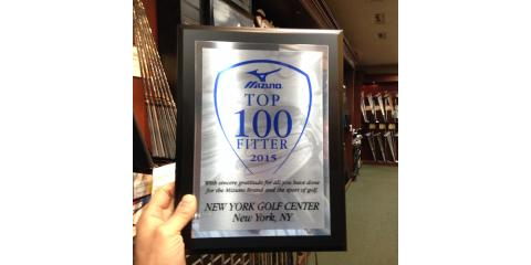 New York Golf Center Named a Mizuno Golf Top 100 Club Fitter, Manhattan, New York