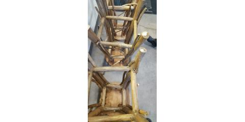 Mold Clean Up On Wooden Bar Stools Sharonville