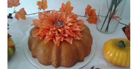 Pumpkin Pound Cake, Xenia, Ohio