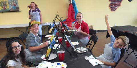 Paint Parties for Kids Every Saturday at Artherapy Studios, Maryland Heights, Missouri