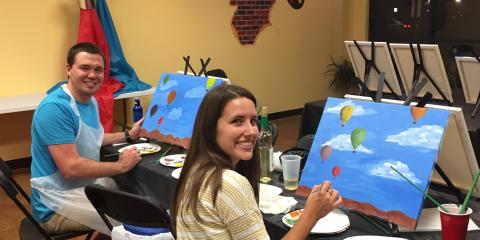 5 Reasons Why Wine Painting Parties Make the Perfect Date Night, ,