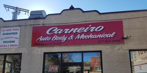 Carneiro Auto Body and Sales, Auto Body, Services, Somerville, Massachusetts