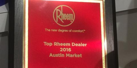 2016 RHEEM AUSTIN DEALER, Southwest Travis, Texas