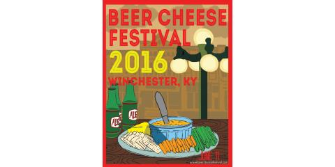 Only 2 weeks until Beer Cheese Festival 2016! Join us!, Winchester, Kentucky