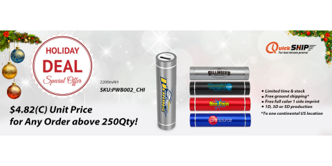Holiday Deal for Power Banks!, Islip, New York