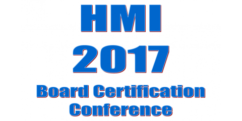 HMI's Annual Board Member Certification Conference, Longwood, Florida