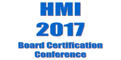 HMI's Annual Board Member Certification Conference, Longwood, Florida