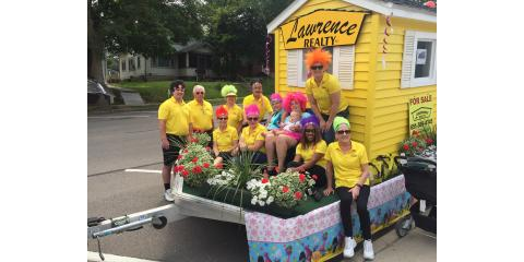 LAWRENCE REALTY was in the River City Days Parade!  It was so good to see so many people there!, Red Wing, Minnesota