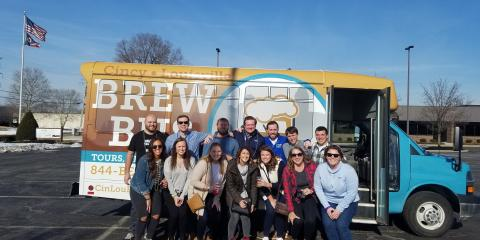 Summer Time Brew Bus Shines!, Cincinnati, Ohio
