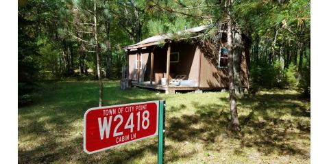 W2418 Cabin Lane, City Point/Pittsville, Black River Falls, Wisconsin