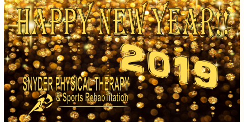 Happy New Year!!  ~ Snyder PT , ,